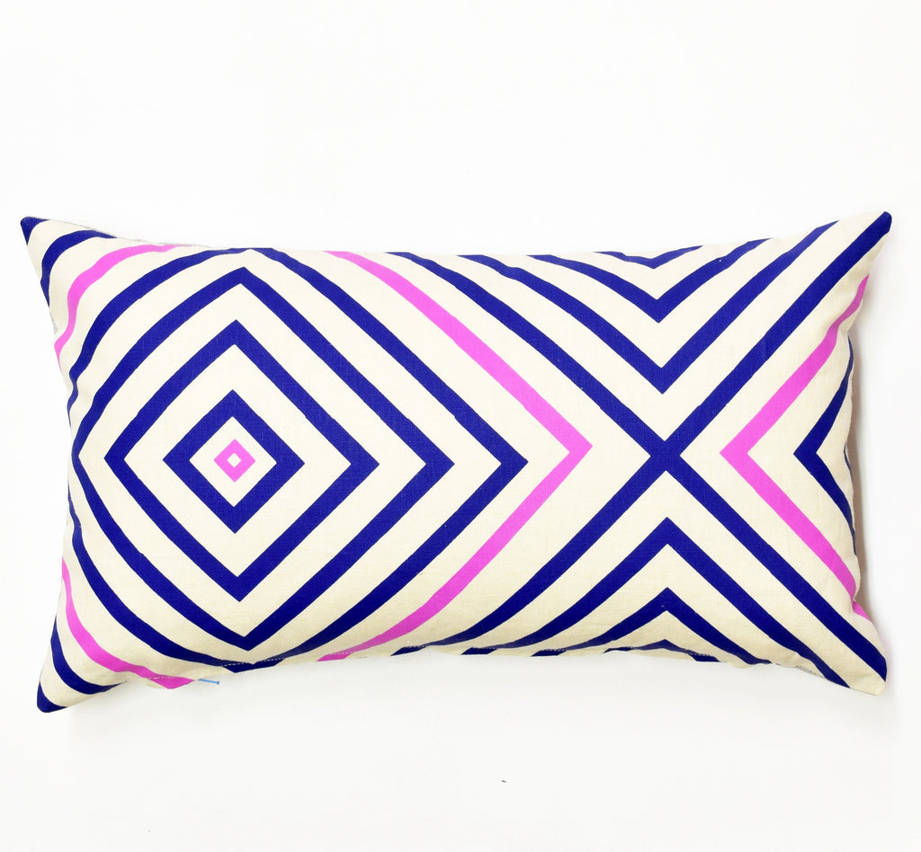 "It's Concentric- 12""x20"" pillow case - sale"