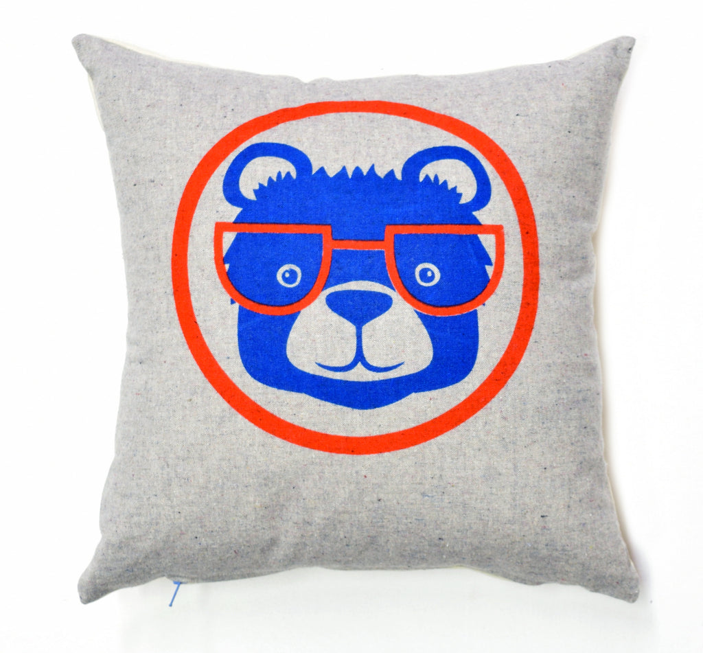 Baseball Bear - pillow case