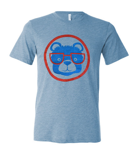 Baseball Bear - adult t-shirt