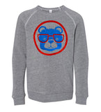 Baseball Bear - adult sweatshirt