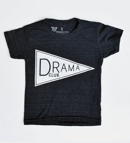 Drama Club - hand printed, t-shirt