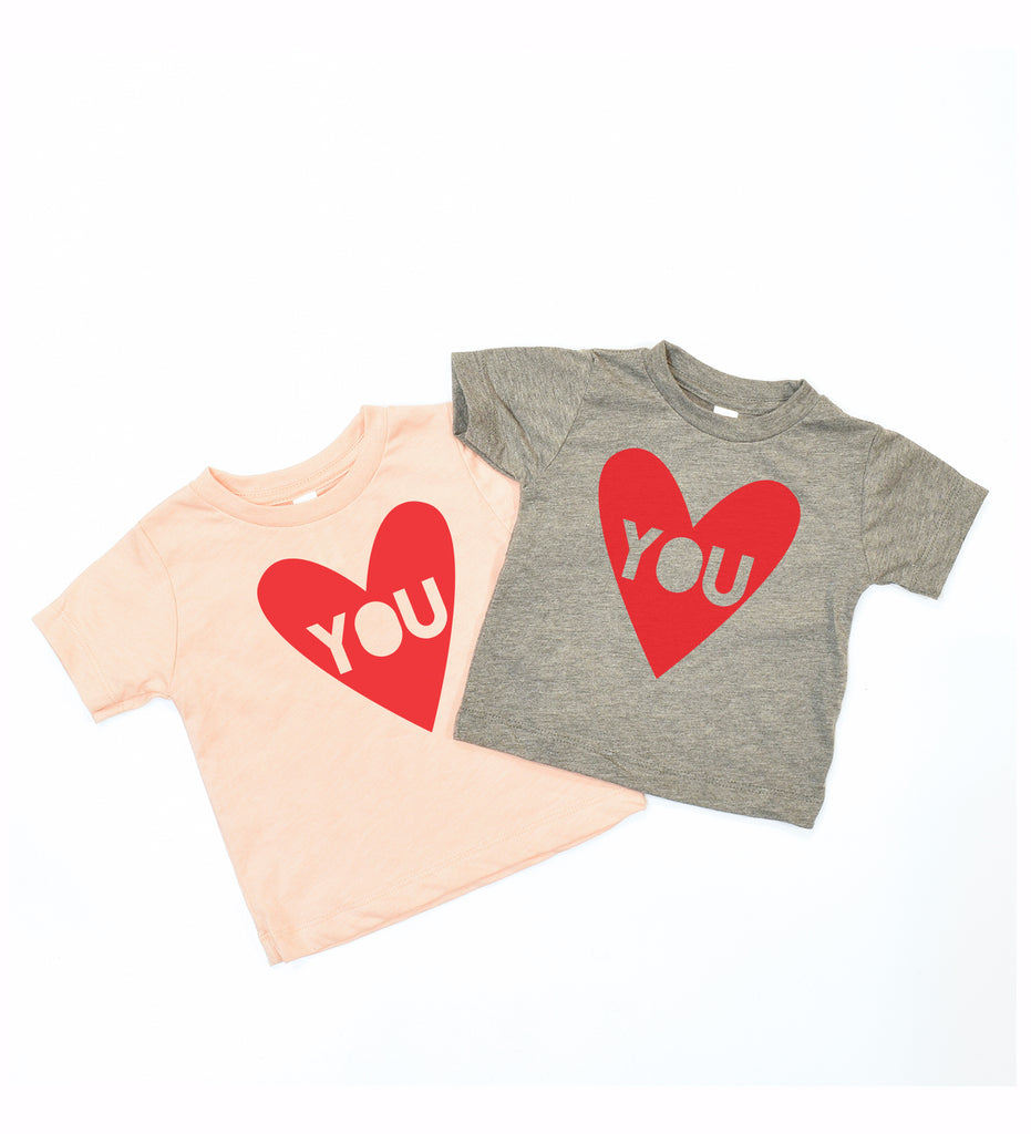 Heart You - Valentine baby t-shirt