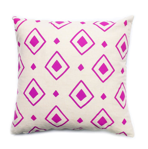 Diamond Dance - orchid - pillow case