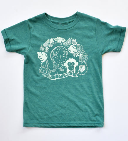 Do Good - kids hand printed t-shirt