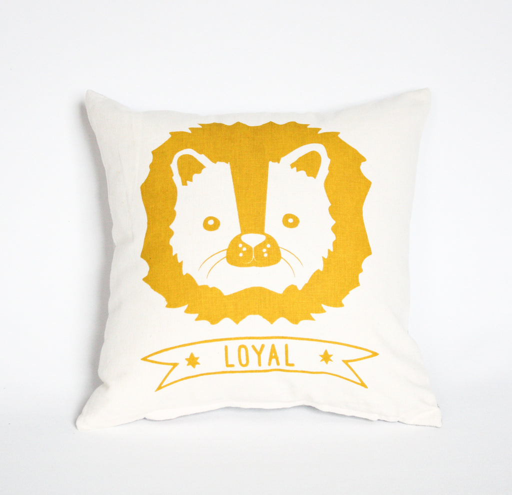 Leo the Lion - pillow case