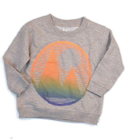 Mountainscape - sample - kid's crew sweatshirt, size 2