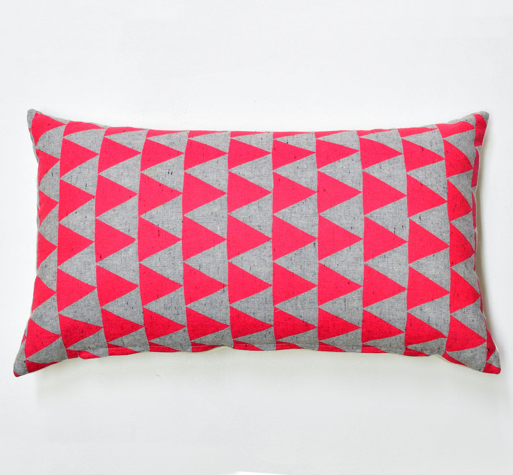 "Mountains of Montana - pink - 12""x20"" pillow case - sale"