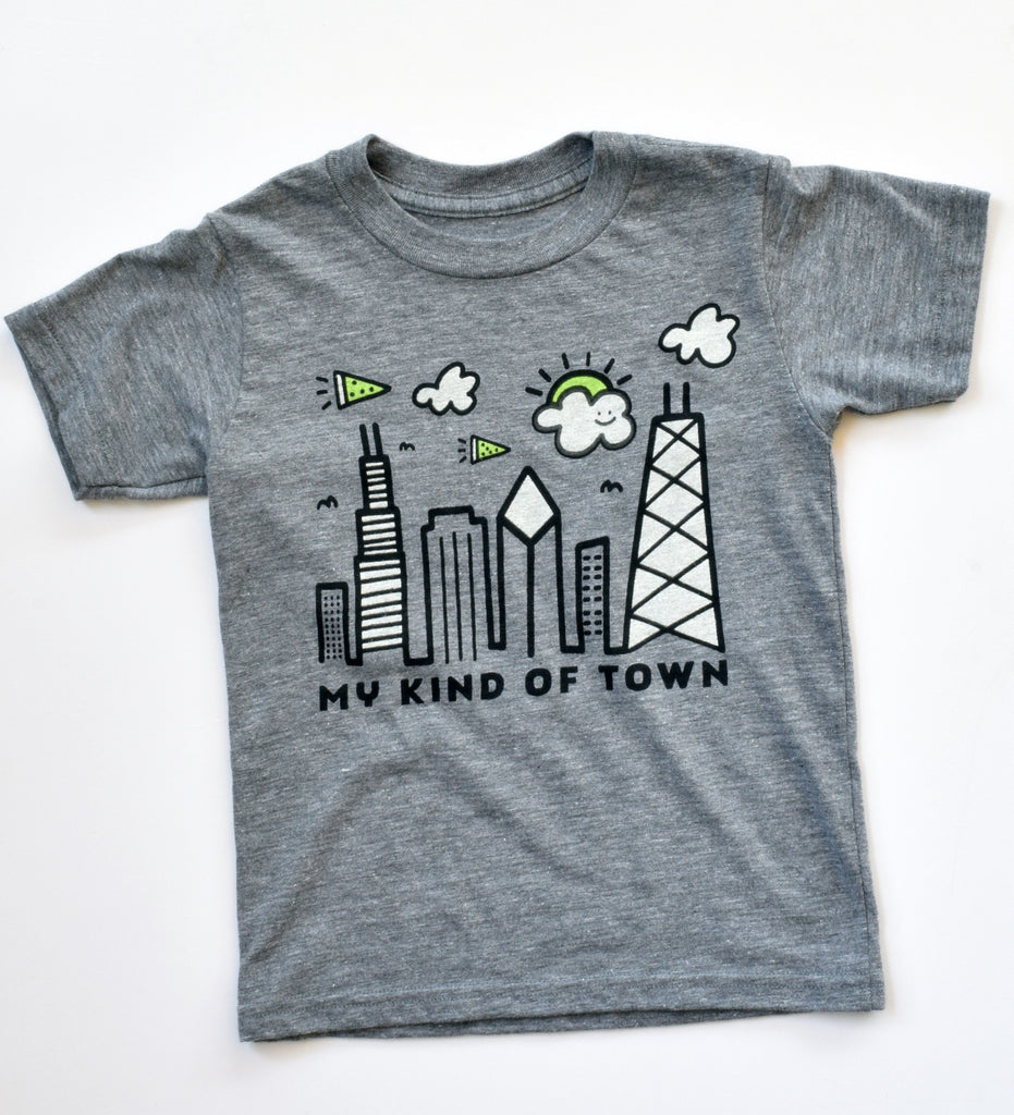 My Kind of Town - kid's Chicago t-shirt