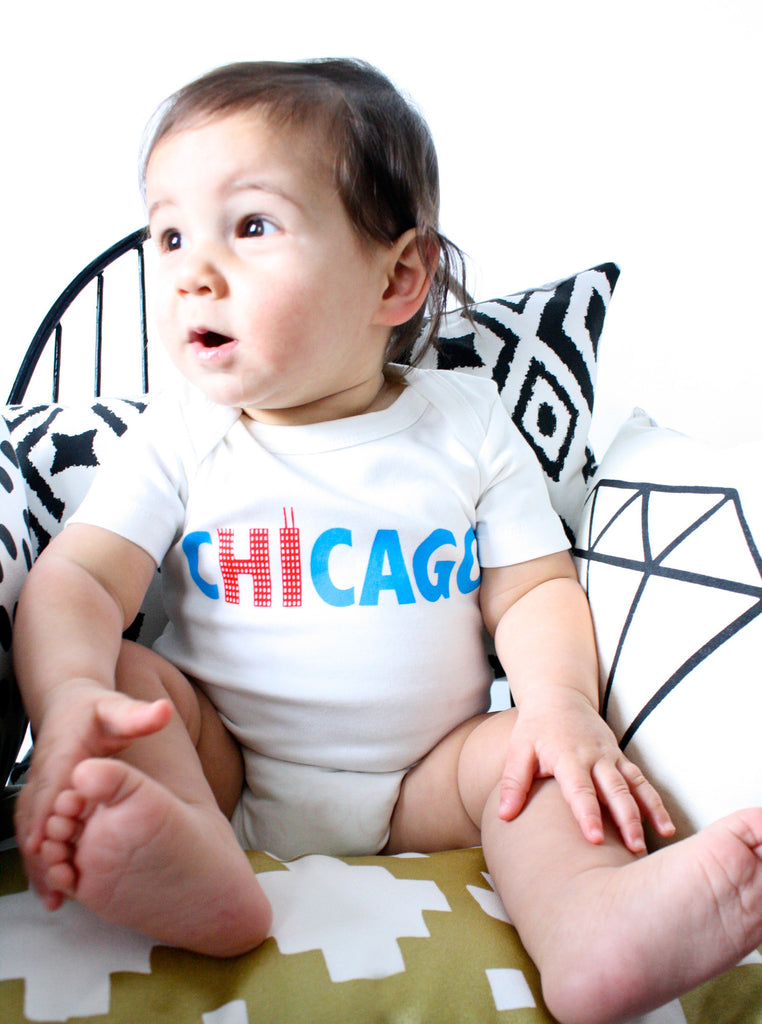 Hi from Chicago - organic bodysuit