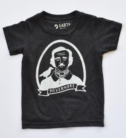 Nevermore - Edgar Allan Poe kids shirt