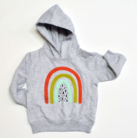Over the Rainbow - kids hoodie