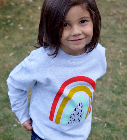 Over the Rainbow - kids sweatshirt