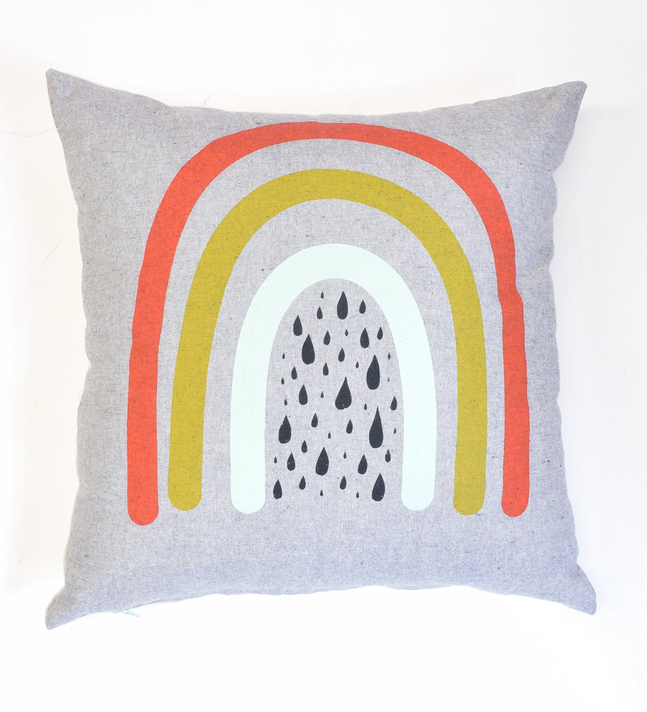 "Rainbow - 18""x18"" - pillow case - sale"