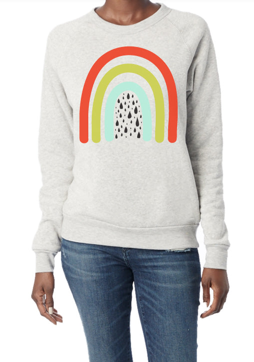Over the Rainbow - adult sweatshirt
