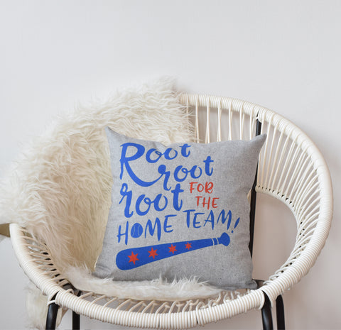 Root For The Home Team - pillow case