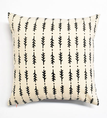Rosemary - black - pillow case