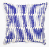 Scribble - cobalt blue - pillow case
