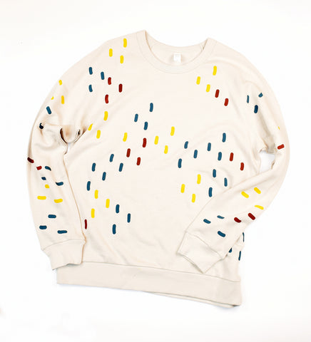 Confetti - sample - adult sweatshirt - Large