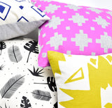 Stacks - orchid - pillow case
