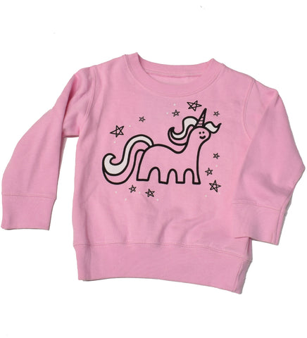 Unicorn Magic - kid's sweatshirt