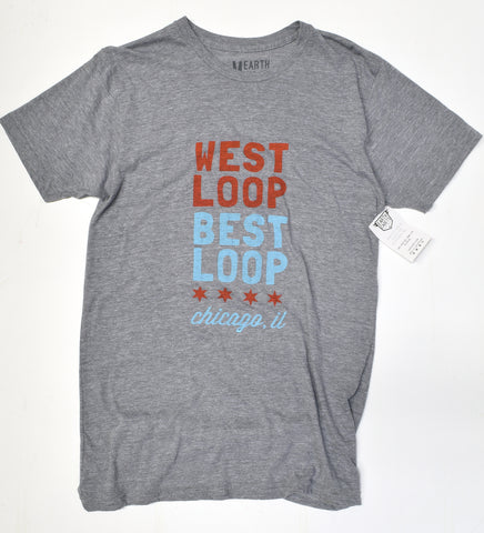West Loop Best Loop - unisex t-shirt S/M- sale