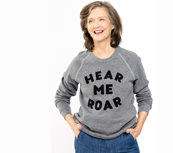 Can't get enough of our new cozy sweatshirts!
