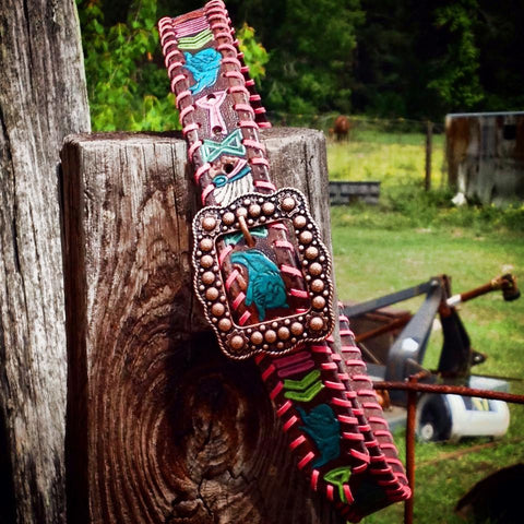 Big Chief Laced Belt