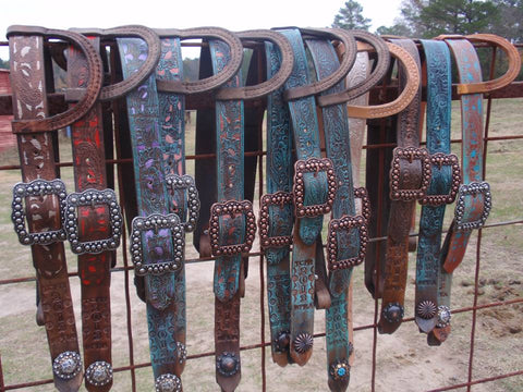 Award Belt Headstalls #BHS030217