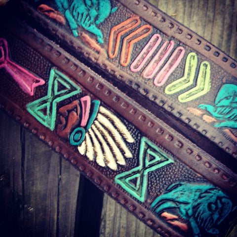50's Chief buffalo belt