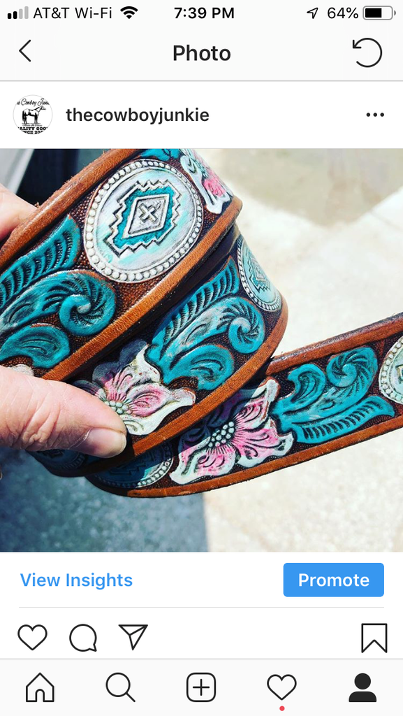 Southwest floral belt