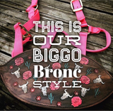 "Custom Order Request "" Web Nylon Bronc Halter"""
