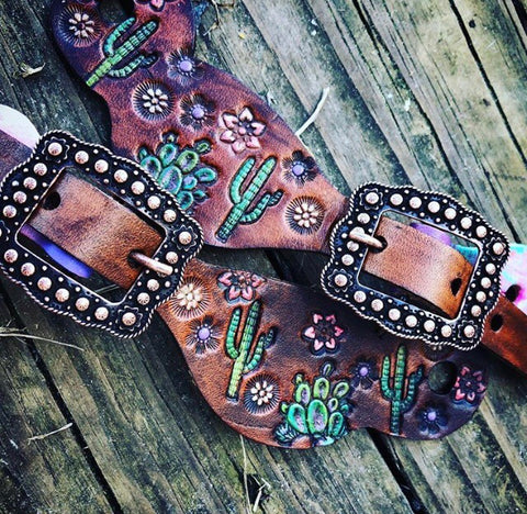 Youth Cactus spur straps