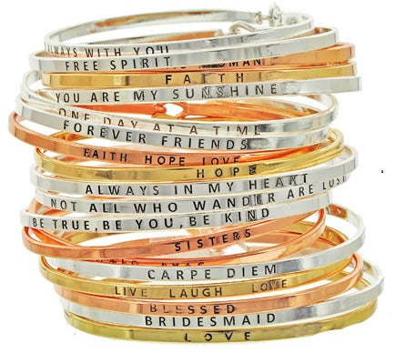 Message Bangles Wholesale