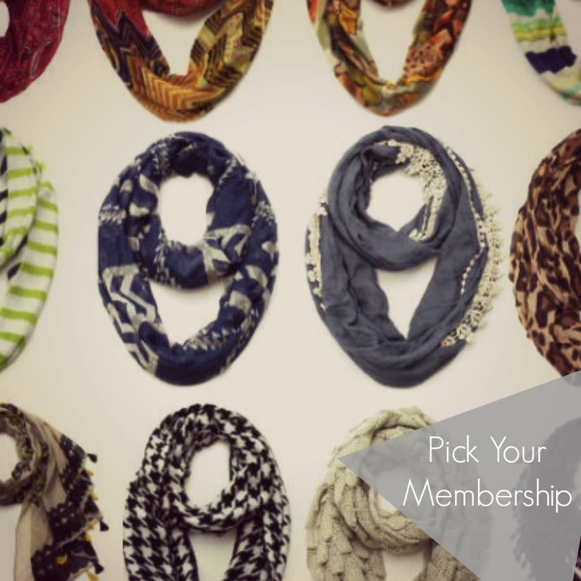 Scarf of the Month Subscription
