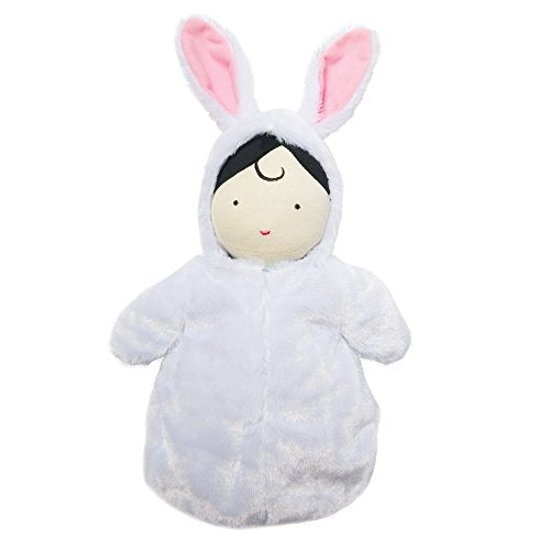 Manhattan Toy Snuggle Baby Doll & Hooded Bunny Sleep Sack