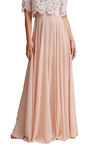 cbf401ac8a ... Honey Qiao Chiffon Bridesmaid Dresses High Waist Long Woman Maxi Skirt-  ShopLuLu.com ...