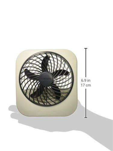 O2COOL 5-Inch Portable Desktop Air Circulation Battery Fan - 2 Cooling Speeds - Compact Folding & Tilt Design, Raspberry- ShopLuLu.com , New York's Fashion District - NYC - Wholesale Fashion Jewelry