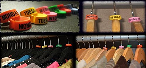 Day of the Week Hanger Markers- ShopLuLu.com , New York's Fashion District - NYC - Factory Direct. Basic As it Should Be