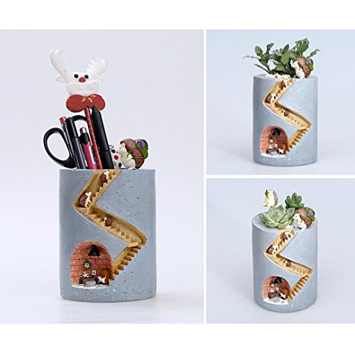 Segreto Creative Plants Flower Pots Brush Pots For Succulent Plants Pot Decorated Desk, Garden, Living Room With Sweet Hedgehog- ShopLuLu.com , New York's Fashion District - NYC - Wholesale Fashion Jewelry
