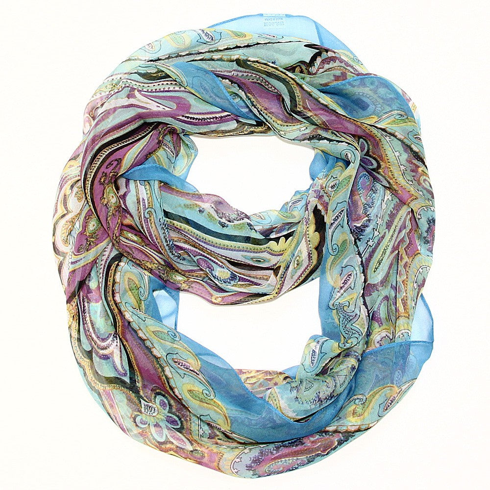 Dream a Little Dream Infinity Scarf - Teal