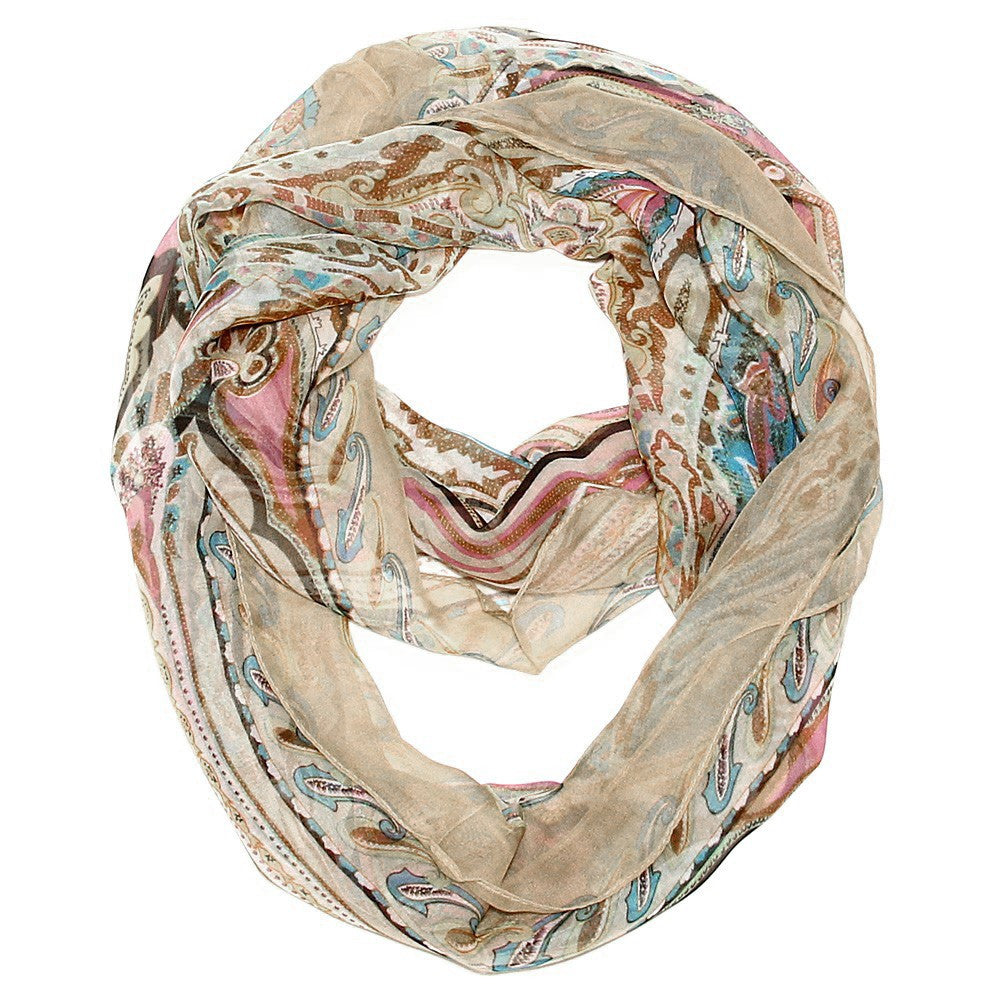 Silk Feel Infinity Scarf Your Choice Of 5 Colors Shop Lulu