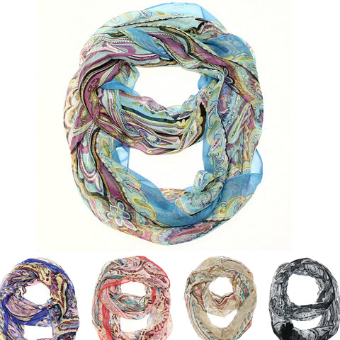Dream a Little Dream Infinity Scarf - Your Choice of 5 Colors