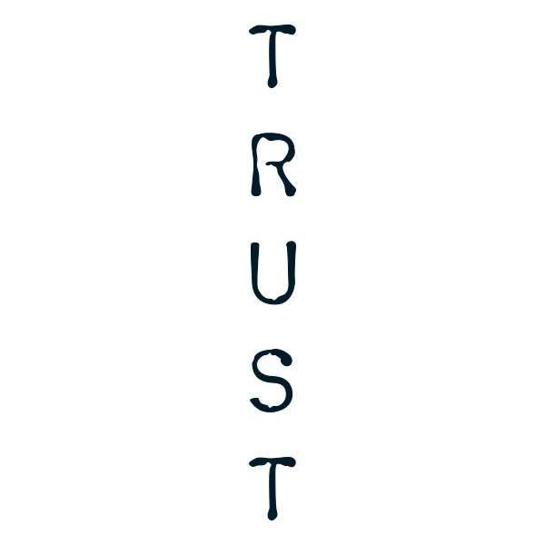 Trust Oversized Temporary Tattoo