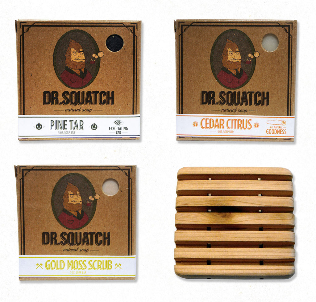 Dr. Squatch Favorites Bundle