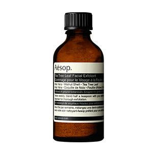 aesop - tea tree leaf facial exfoliant