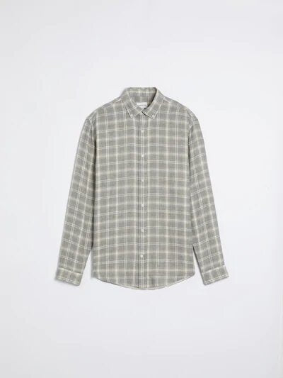 frank & oak - soft plaid lined shirt