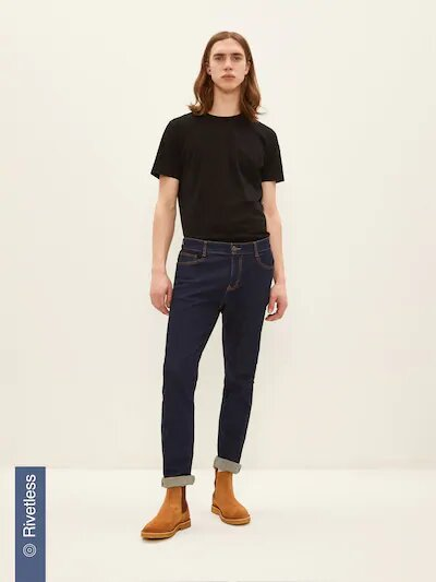 frank & oak - dylan slim stretch denim