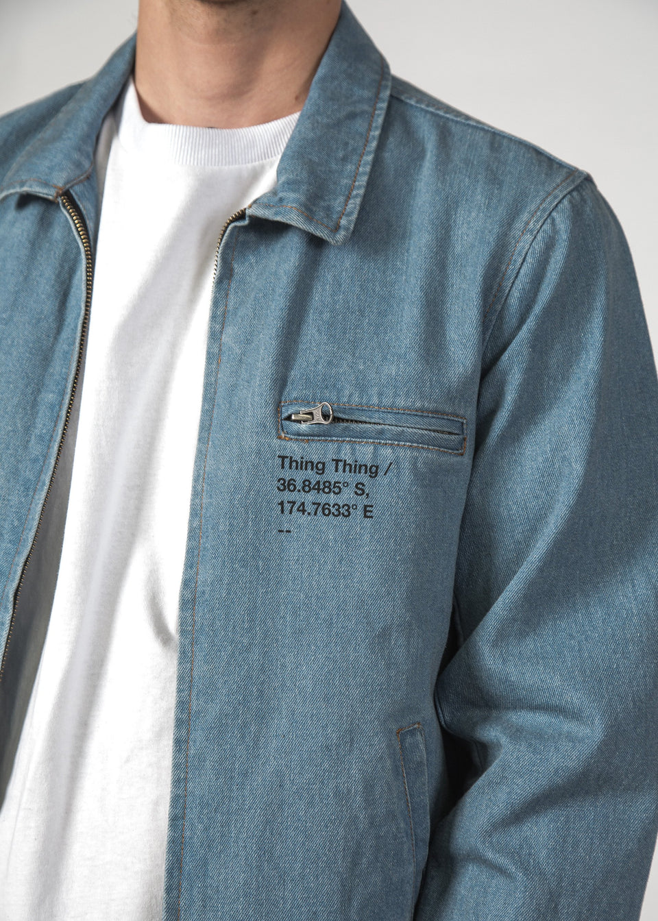 thing thing - concord blue denim jacket