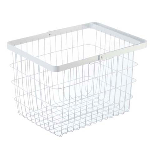 Yamazaki Home - Tower Laundry Basket Medium White
