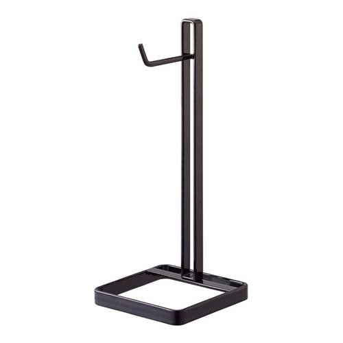 Yamazaki Home - Beautes Square Headphone Stand Black